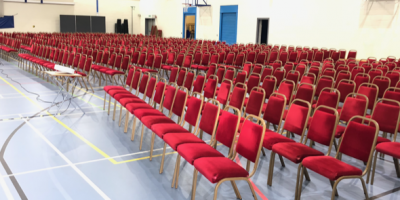 Banqueting chair hire Manchester