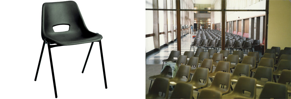Black-polypropylene-stacking-chair-montage
