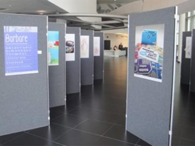 Exhibition Display Panels : Shell scheme hire poster board hire exhibition panel hire