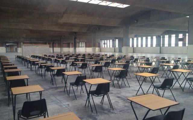 exam desk hire Manchester