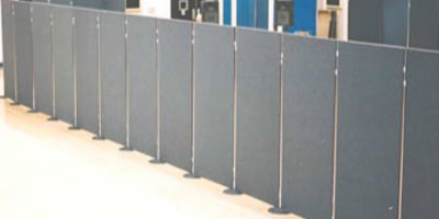 Partition board hire