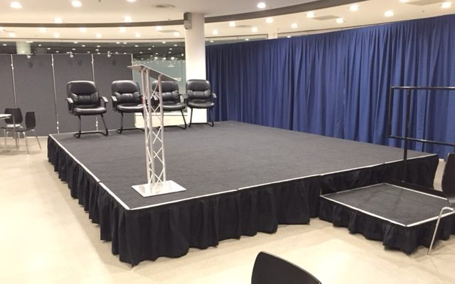 Stage hire Catwalk hire Podium hire