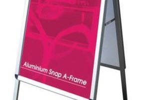 A frame display hire